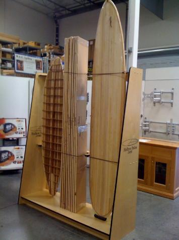 Hollow Wooden Surfboard Kits